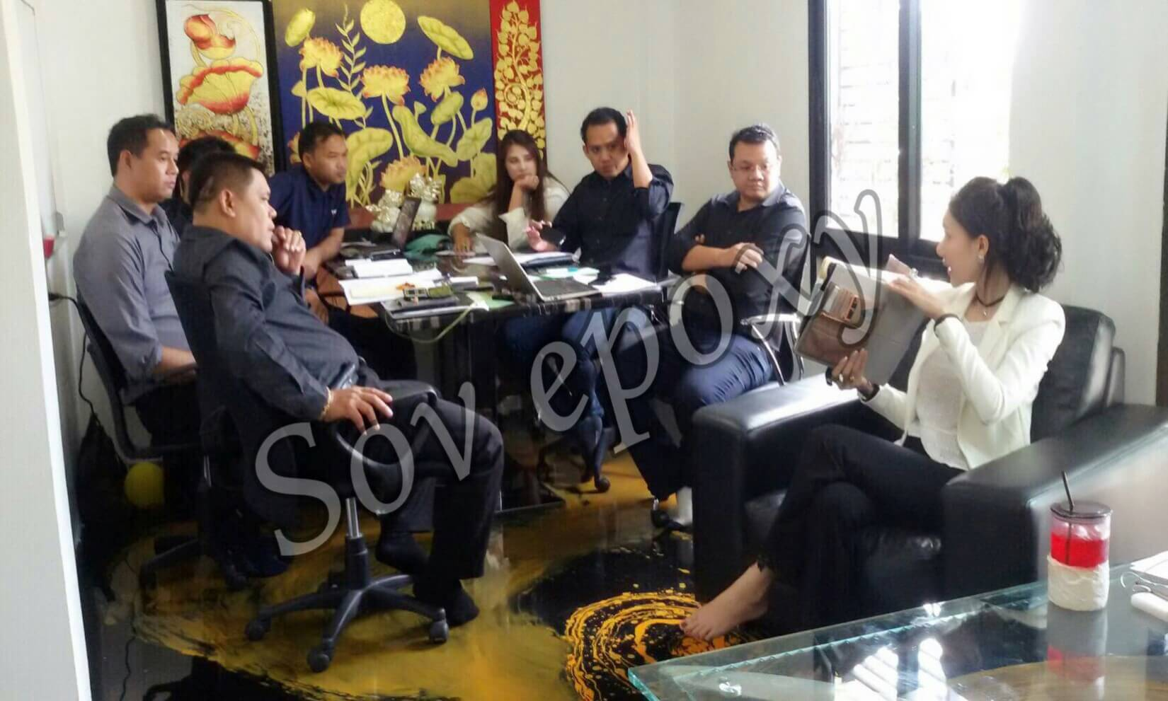 ประชุมยอดขาย SOV EPOXY 5