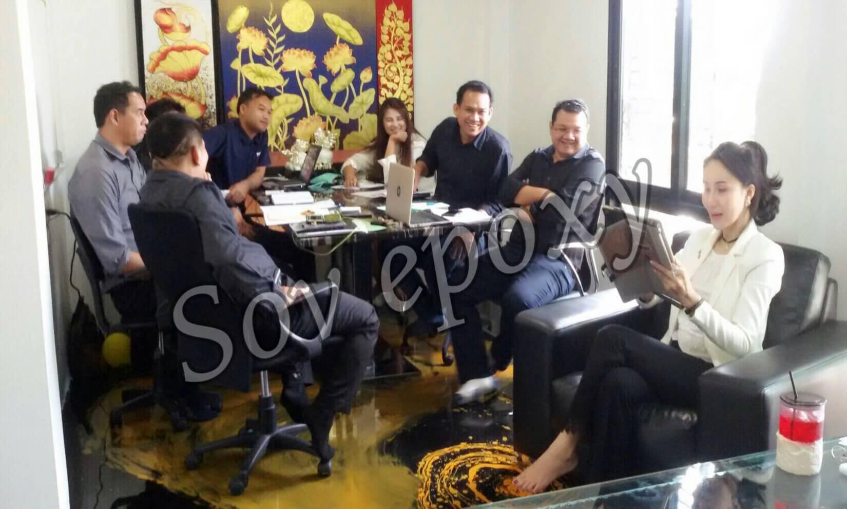 ประชุมยอดขาย SOV EPOXY 6