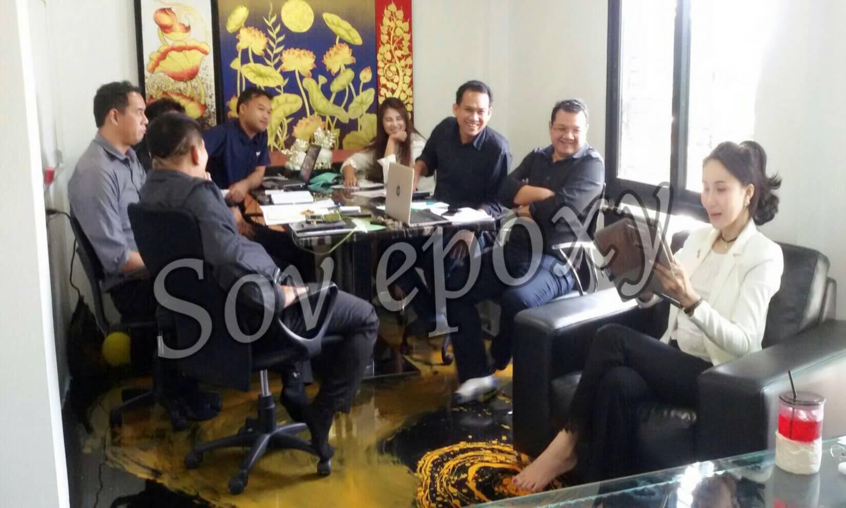 ประชุมยอดขาย SOV EPOXY 9