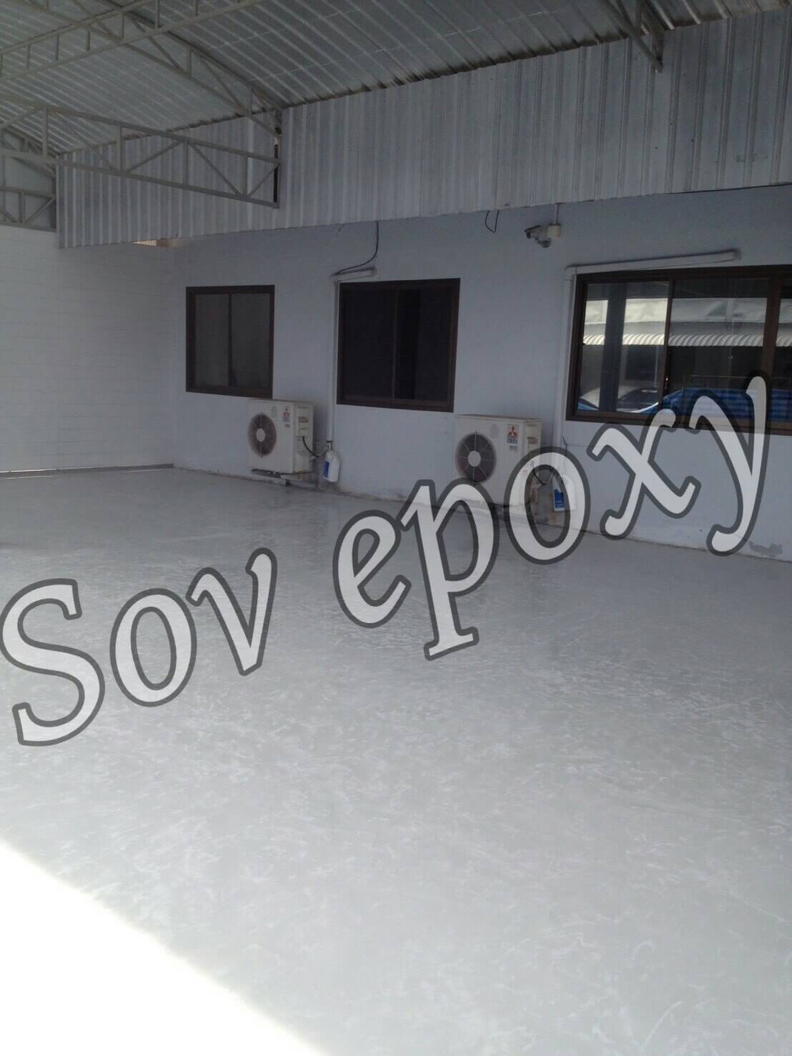 งานพื้นEpoxy Self leveling โชว์รูมมิตซู จ.พัทลุง 1