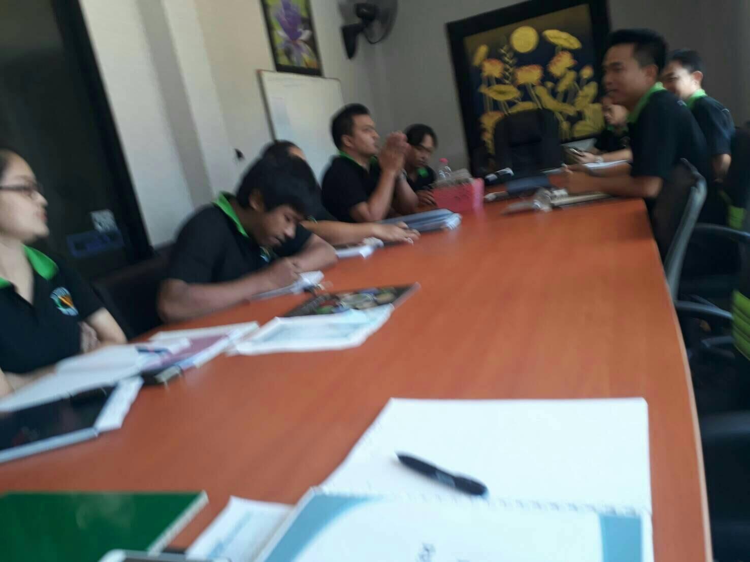 ประชุมประจำเดือน ส.ค. ทีมเชลล์ทีมออฟฟิศ 3
