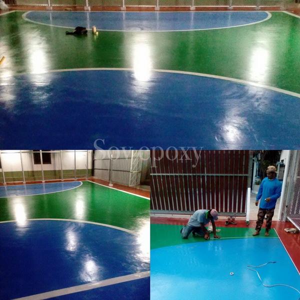 พื้นสนามกีฬา PU SPORT 14