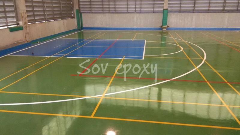 พื้นสนามกีฬา PU SPORT 10