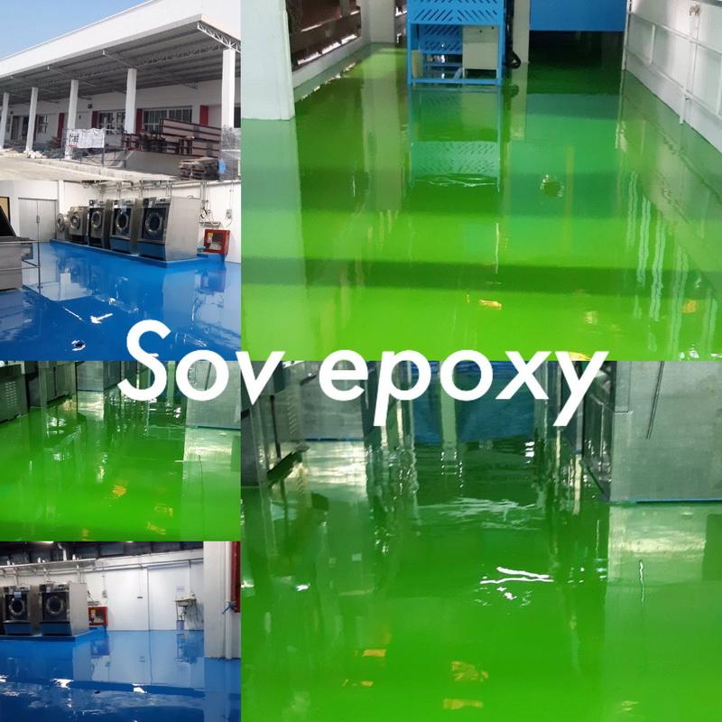 พื้น Epoxy Self-leveling