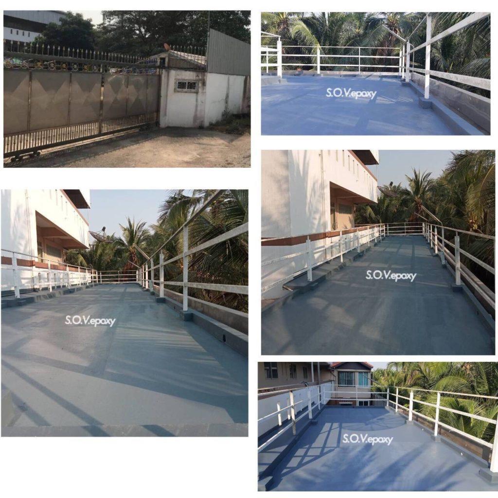 พื้น PU Water Proof+Fiberglass